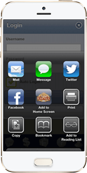 Select Add To Home Screen