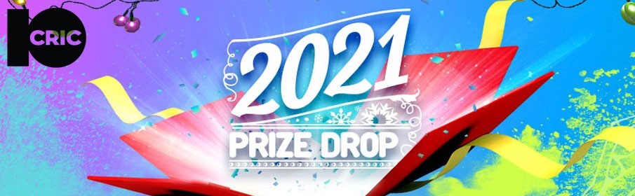 10Cric Casino 2021 Prize Drop - $61,655 Cash Prize