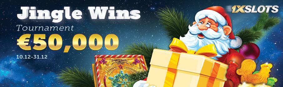 1XSlots Casino Christmas €50,000 Cash Prize Tournament