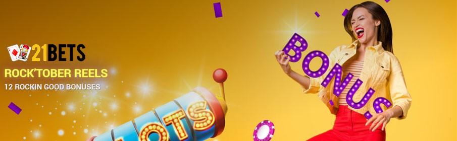 21Bets Casino Monthly Bonus