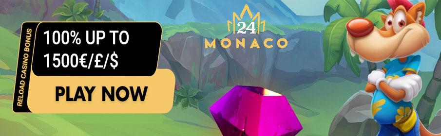 24Monaco Casino Reload Bonus
