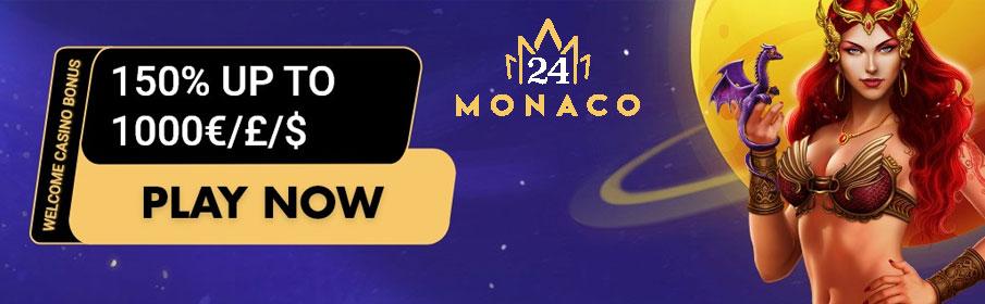 24Monaco Casino Welcome Bonus