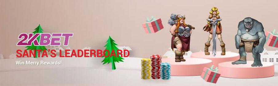 2K Bet Casino Christmas Bonus – Win $700 in Cash Prizes