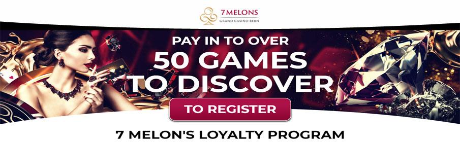 7 Melons Casino Loyalty Program