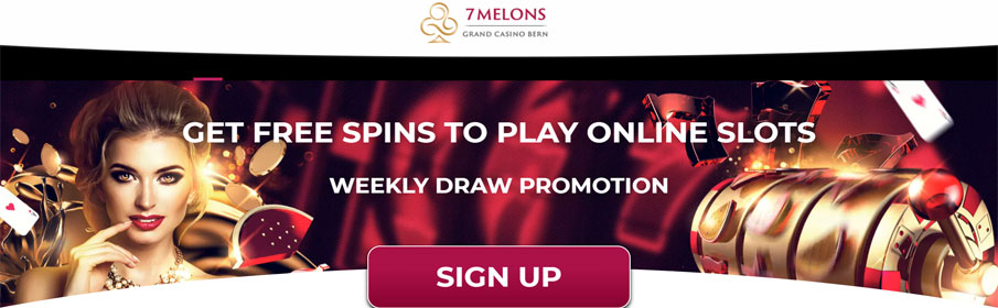 7 Melons Casino Weekly Draw Promotion