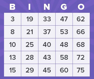 75 balls bingo