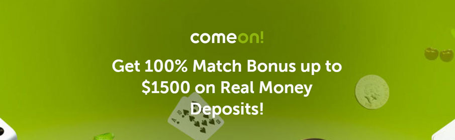 ComeOn Casino Sign Up Offer