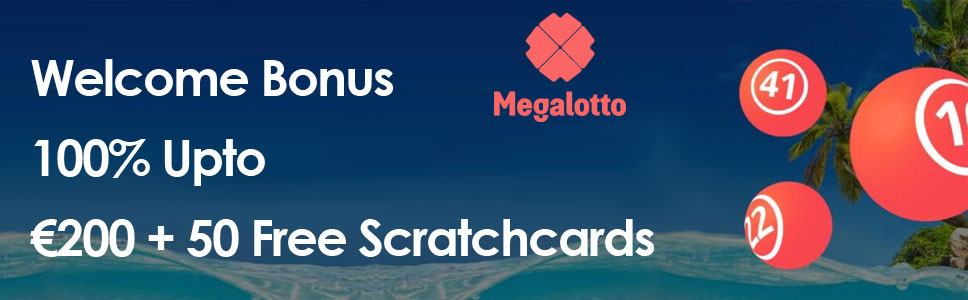 MegaLotto Casino Welcome Offer
