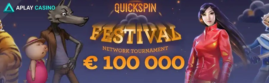 Quickspin Festival Network Tournament at Aplay Casino
