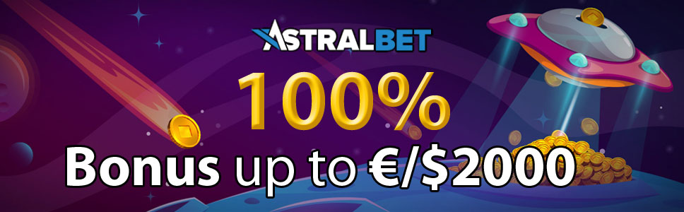 Astralbet Casino Welcome Bonus