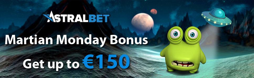 AstralBet Casino Martian Monday Bonus