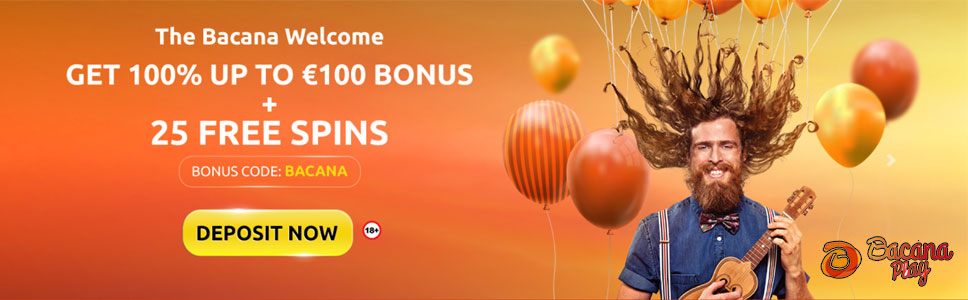 Bacana Play Welcome Bonus