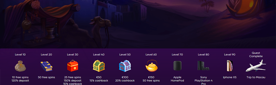 Bao Casino Quest Bonuses Win Free Spins Real Money Prizes