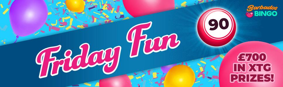Barbados Bingo Friday Fun Bonus