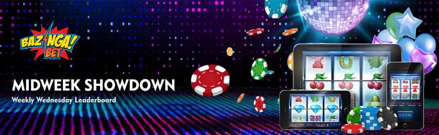 BazingaBet Casino Midweek Showdown Bonus