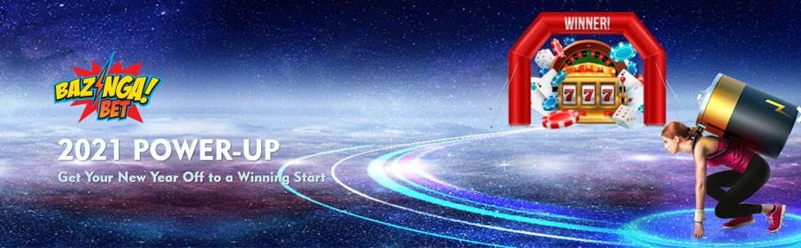 Bazingabet Casino Power-up Bonus – Get Free Spins