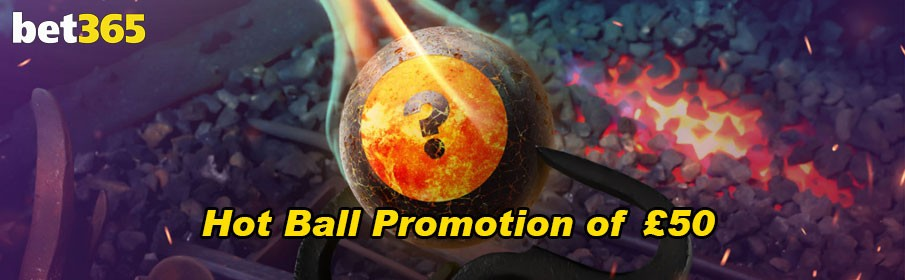 Bet365 Bingo Mojo Hot Ball Promotion of £50