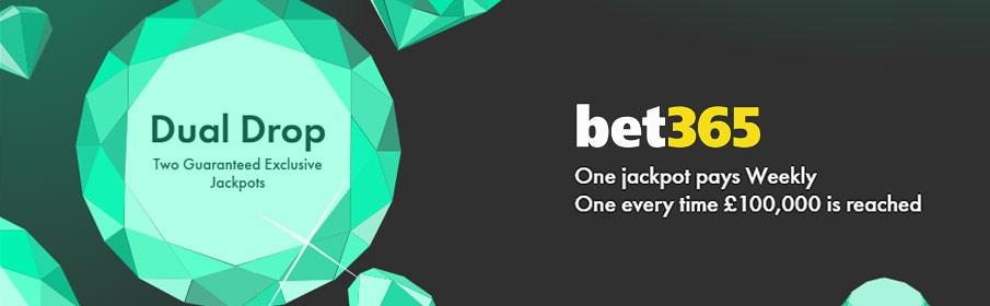 Bet365 Casino Dual Drop Jackpot Promotion