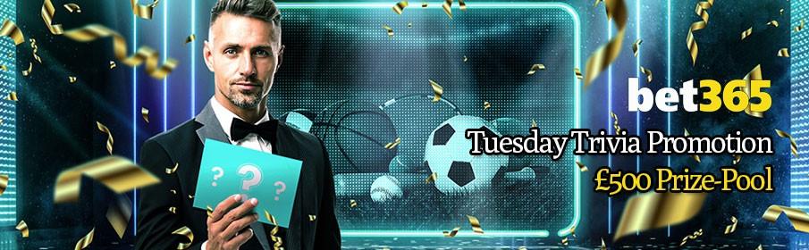 Bet365 Casino Tuesday Trivia Promotion