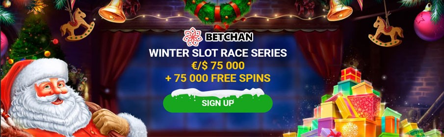 Winter Slot Race Series at Betchan Casino