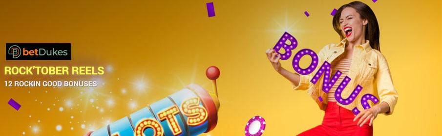 Betdukes Casino - Get up to £1500 Bonus
