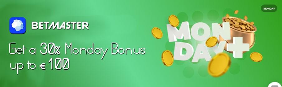 Betmaster Casino Monday Bonus