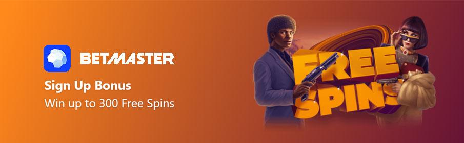 BetMaster Casino Sign Up Bonus