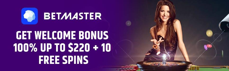 Betmaster Caasino Welcome Bonus