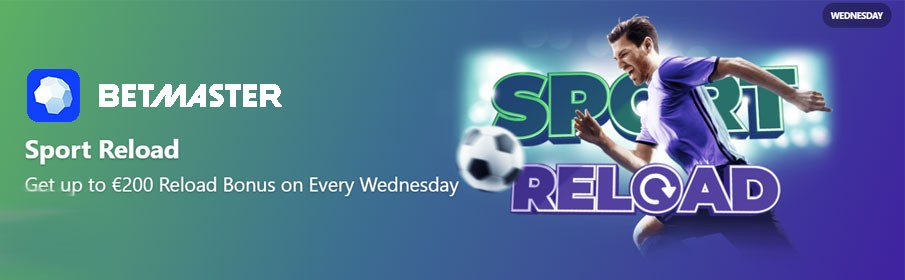 Betmaster Casino Wednesday Reload Bonus
