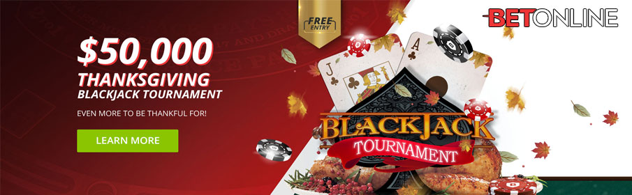 Betonline Casino Thanksgiving Blackjack Promotion