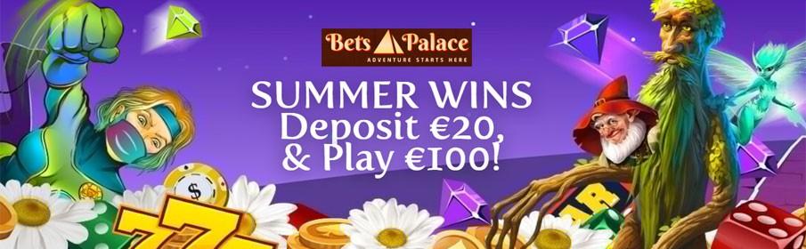 Betspalace Casino 500% First Deposit Bonus