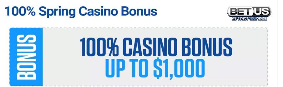 Betus Casino Spring Bonus