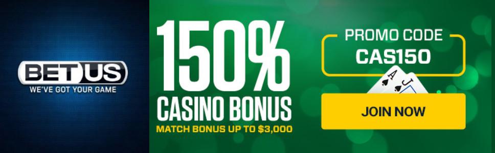 Betus Casino Welcome Bonus