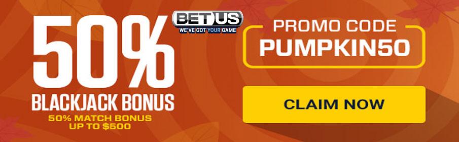 BetUS Casino Match Bonus