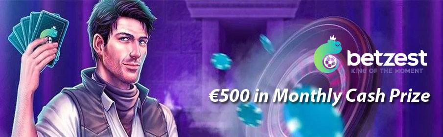 Betzest Casino Book of the Dead €500 Cash Prize Tournament