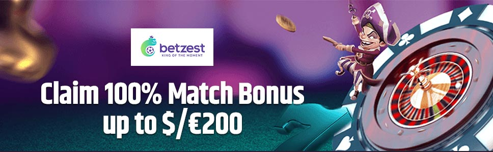 Betzest Casino Welcome Bonus