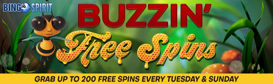 Bingo Spirit Weekly Free Spins Bonus