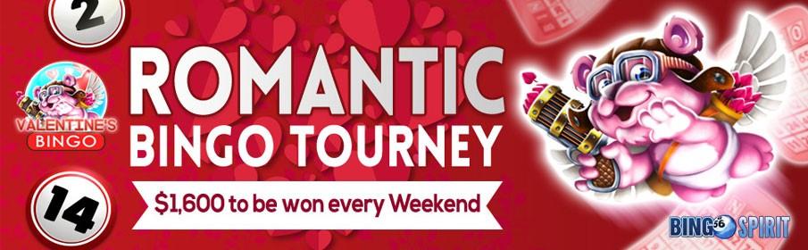 Bingo Spirit Romantic Tourney Promotion