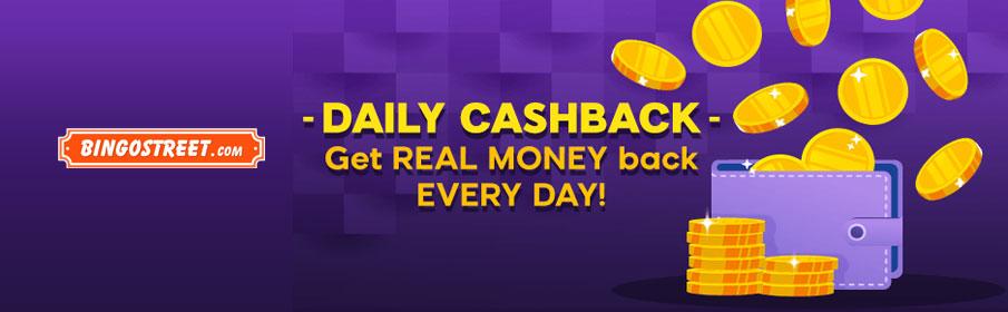 Bingo Street Cashback Bonus