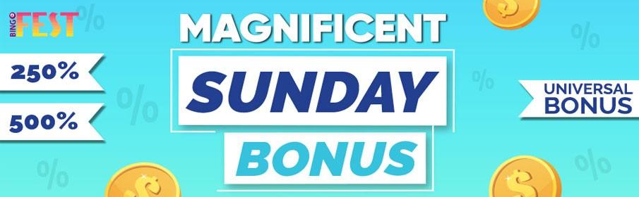 Bingofest Tuesday Match Bonus