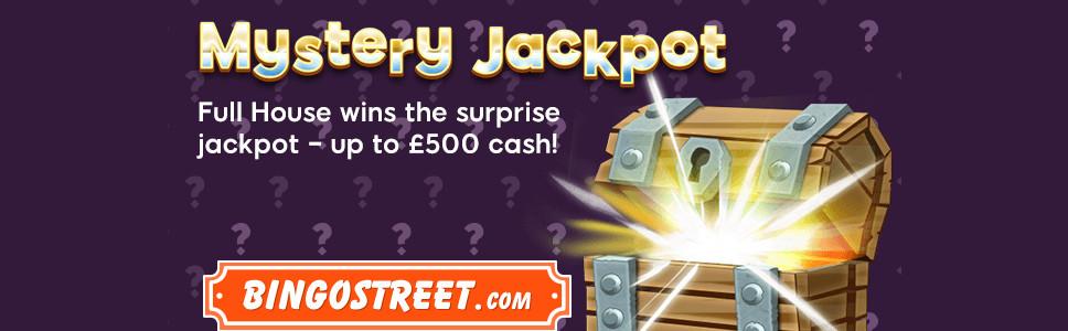 BingoStreet Mystery Jackpot Bonus
