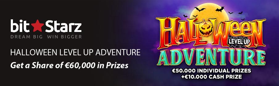 Bitstarz Casino Halloween Level Up Adventure – €60,000 in Prizes