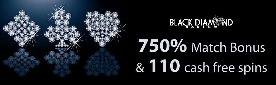Black Diamond Casino Welcome Bonus