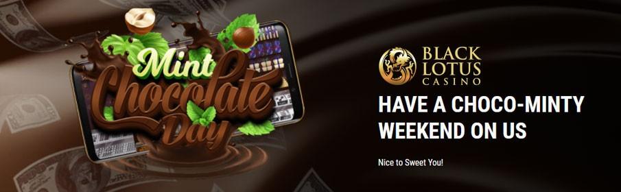 Black Lotus Casino offers Chocolaty Bonus