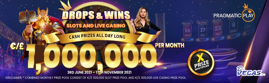 BluVegas Casino - Win from €1,000k Cash Prize Promotion