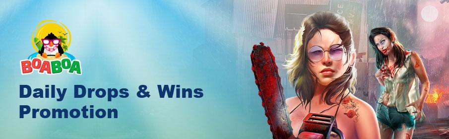 BoaBoa Casino Daily Drops & Wins Promotion