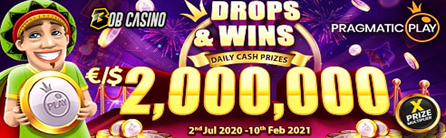 Bob Casino Drops & Win Offer