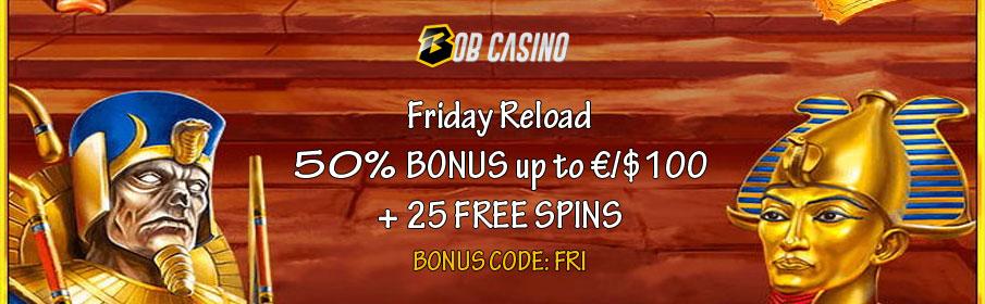 Bob Casino Friday Bonus