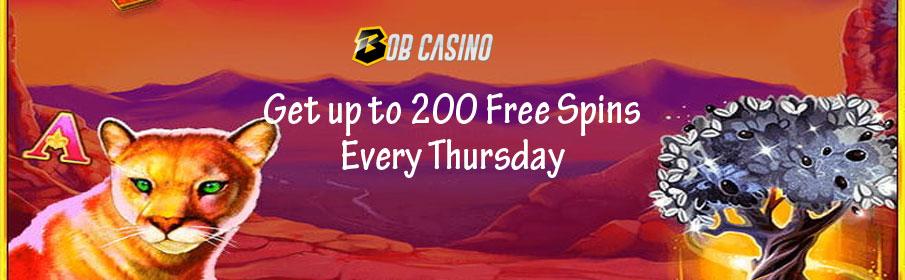 Bob Casino Thursday Bonus