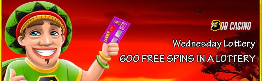 Bob Casino Wednesday Lottery Bonus